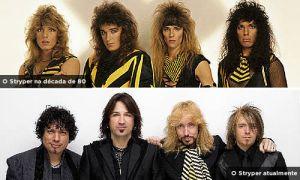 Stryper nos anos 80 e hoje.