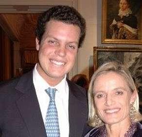 Pedro com a sua tia D. Maria Thereza