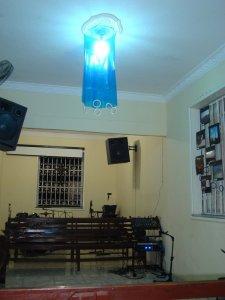 Na sala de Casa